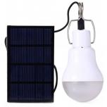 15W LED lemputė su saulės baterija