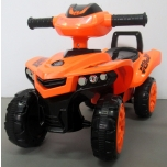 Children  pushcar ATV replica J5 (orange)