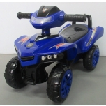 Children  pushcar ATV replica J5 (blue)