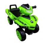 Stumiantis vaikiško automobilio keturračio kopija J5 (žalias)