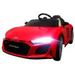 Audi R8 Sport (punane) - pehmete rataste ja nahkistmega