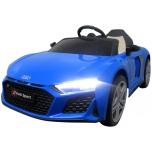 Audi R8 Sport (sinine) - pehmete rataste ja nahkistmega
