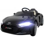 Audi R8 Sport (must) - pehmete rataste ja nahkistmega