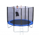 Trampoline 8FT 252 cm with safety net and ladder - R-Sport