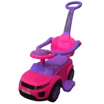 Land Rover J4 push car (pink)
