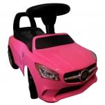 Mercedes lasten auto (vaaleanpunainen)