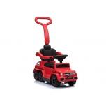 Lasten auton työntäminen Mercedes 6x6 (punainen)