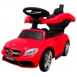 Lükatav tõukeauto Mercedes AMG C64 (punane)