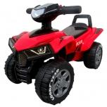 Vaikiškas paspirtukas ATV replica 55Z (raudona)