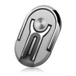 2 ühes - Telefonihoidja Sõrmus ja Autohoidik (hõbedane)