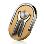 2 ühes - Telefonihoidja Sõrmus ja Autohoidik (kuldne)