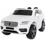 "Electrical car for children ""Volvo XC 90"" replica (white)"