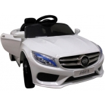 "Elektromobilio ""Mercedes M4"" kopija (balta)"